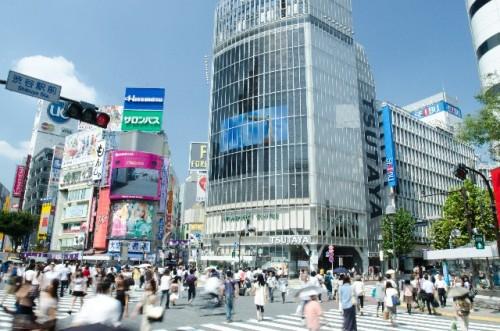 渋谷でバイトを探す
